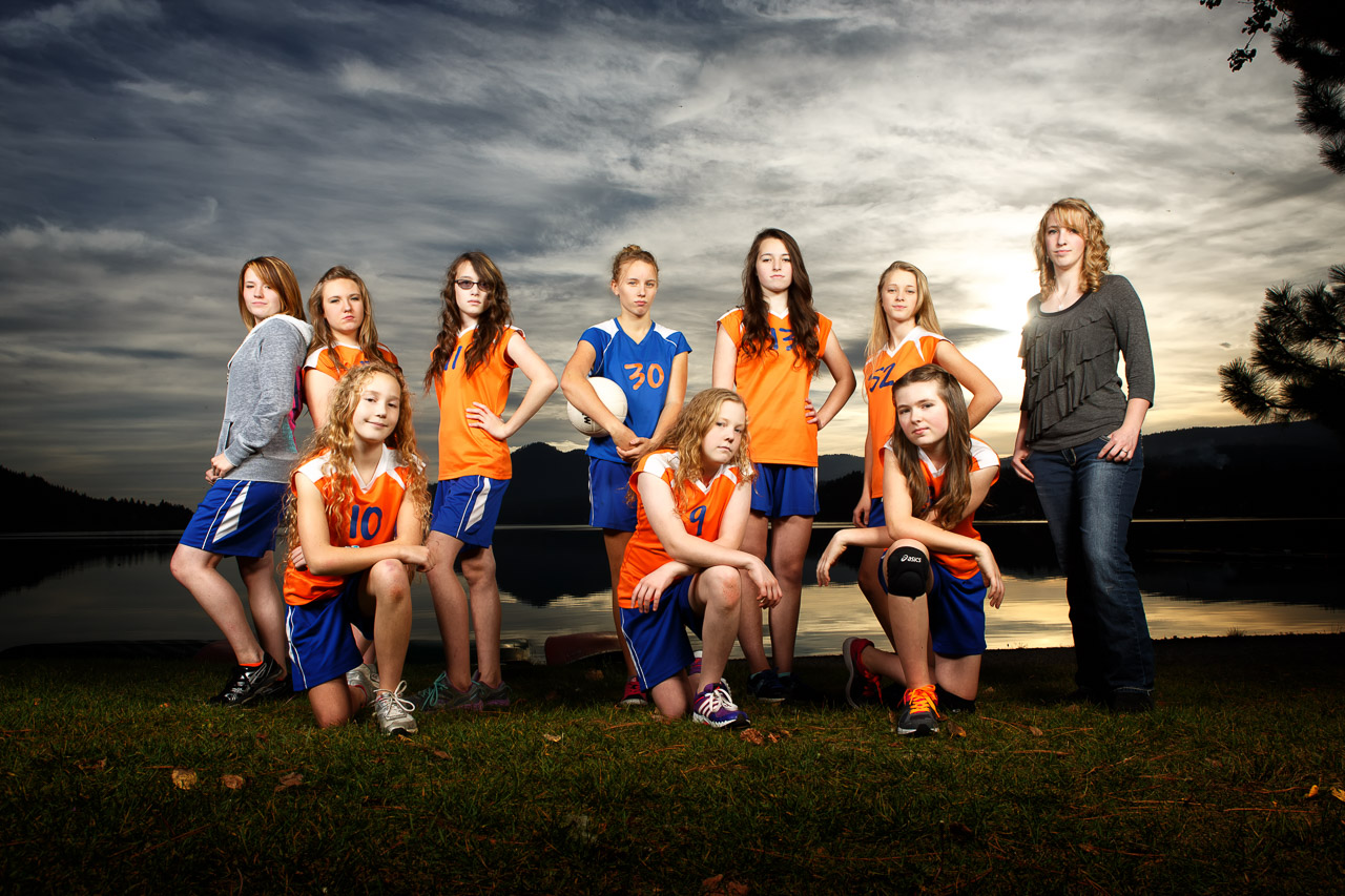 2014 Junior Girls Volleyball