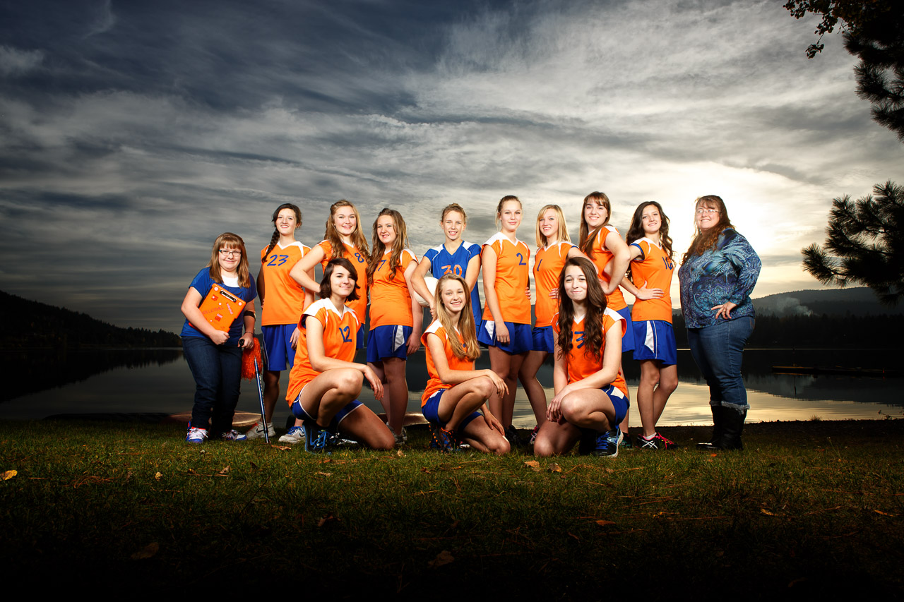 2014 Junior Varsity Girls Volleyball