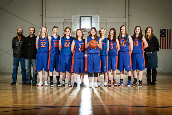 2012-2013 Varsity Girls Basketball