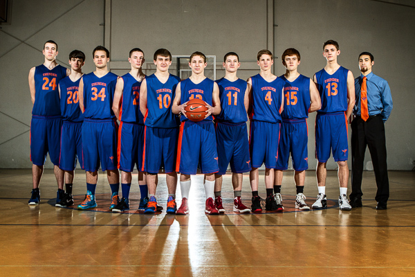 2012-2013 Varsity Boys Basketball